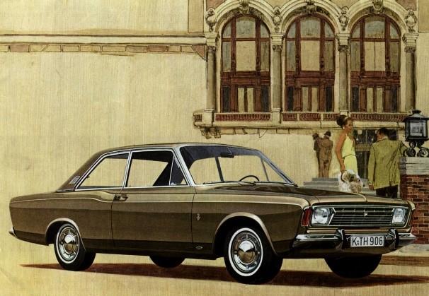Ford P7 före uppdatering