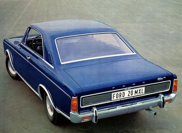Ford P7 efter uppdatering