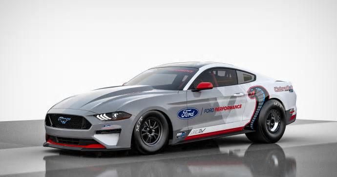 Ford Performance presenterar helt elektrisk dragracing-Mustang