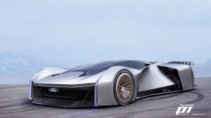 Ford presenterar den ultimata racerbilen under Gamescom - ett unikt samarbete mellan Ford och gamers