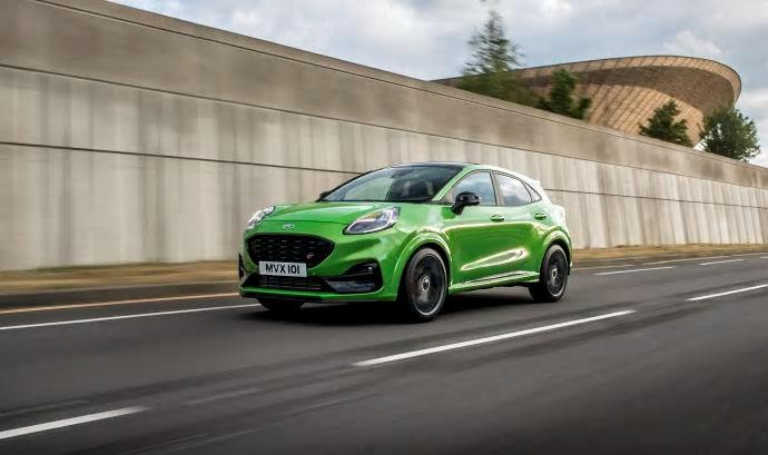 Ford presenterar nya Puma ST - hyllad kördynamik i en kompakt SUV
