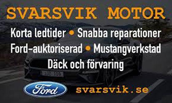 Ny samarbetspartner - Svarsvik Motor AB