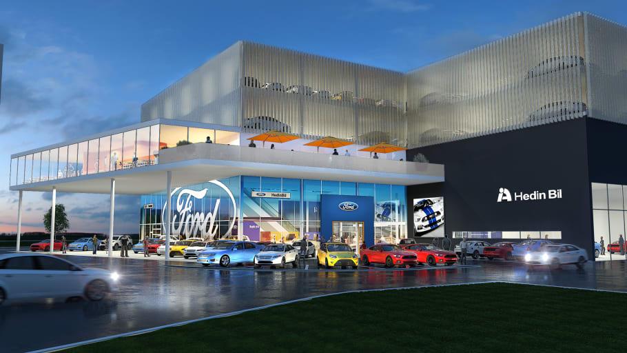 Hedin Group AB förvärvar Ford Motor Company aktiebolag