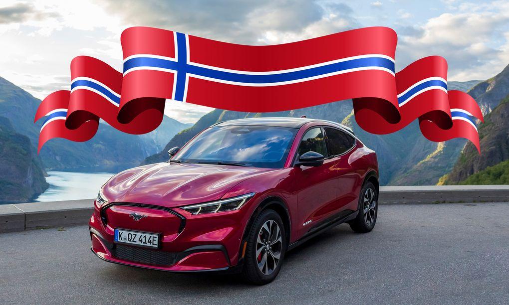Tesla-hypen över - nu kör norrmännen helst Ford