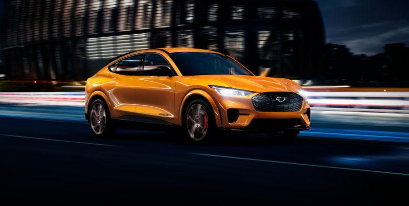 Ford öppnar orderböckerna för Mustang Mach-E GT - toppversionen av den populära elbilen